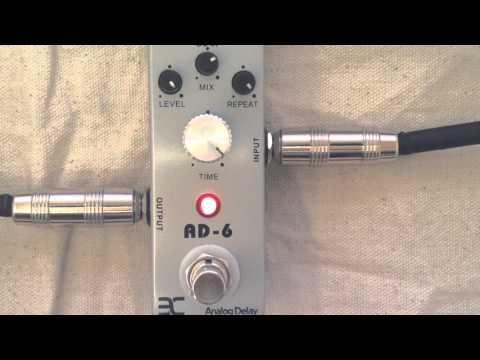 ENO / Andoer TC 31 AD-6 Analog Delay - PEDAL CHEAPO DEMO - von YouTube · Dauer:  1 Minuten 56 Sekunden