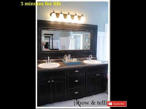 Beautiful bathroom mirror design ideas