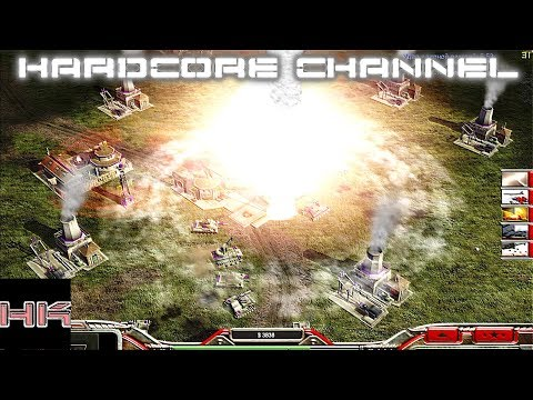 Command & Conquer Generals: Zero Hour - FFA - Ядерная война