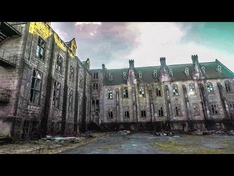 ABANDONED HOGWARTS SCHOOL OF WITCHCRAFT AND WIZARDRY