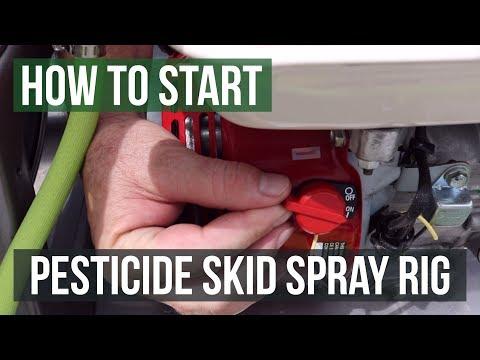 Starting Your Pesticide Skid Spray Rig