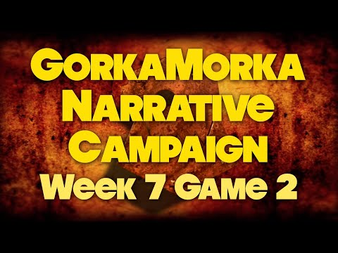 SEASON FINALE - The Big Rig Chase - Week 7 Game 2 - Gorkamorka Narrative Campaign Revisit