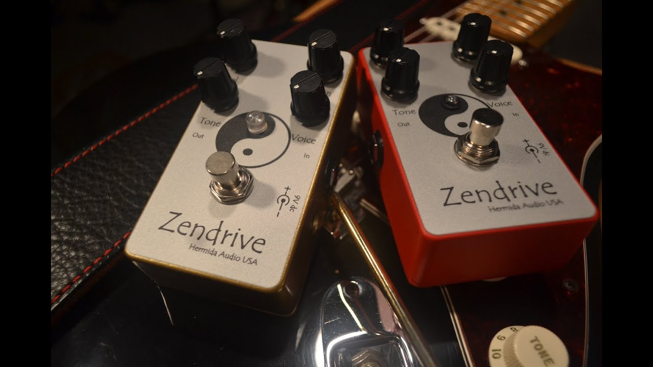 Zendrive (Red) vs Zendrive II (Gold) - A pedal Comparison with Sean on