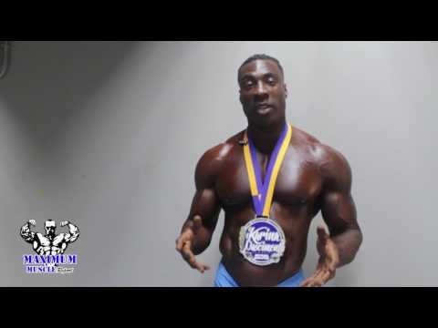 IFBB Masters Pro Travales Blount