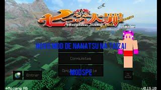 MCPE-NOVO MOD DE NANATSU NO TAIZAI