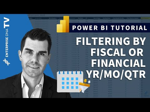 Filtering By Fiscal Or Financial Year Months & Quarters In Power BI