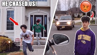 DING DONG DITCHING MY GIRLFRIENDS EX BOYFRIEND! (HE CHASED US)
