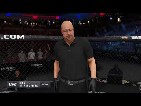 EA SPORTS UFC 3 Santiago Ponzinibbio vs Daryl Anderson