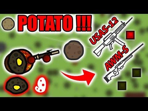 THE POTATO MODE IS BACK ! | SURVIV.IO
