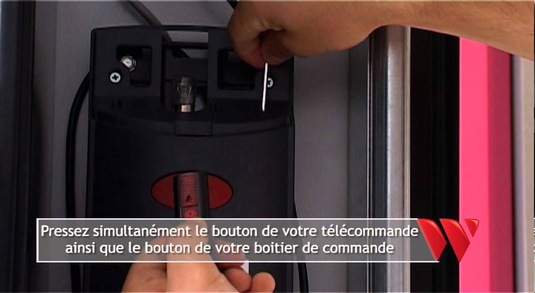 Astuces weigerding programmation t l commande porte de garage youtube - Telecommande universelle porte de garage ...