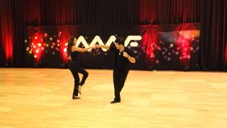 Pro Show - Maxence Martin - Jessica Cox - Midwest Westie Fest 2014