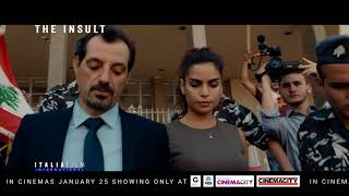 The Insult - قضية رقم ٢٣ - Oscar Nominee for Best Foreign Language Film.