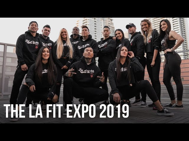 Team LVFT. Takes Over LA | The LA Fit Expo 2019