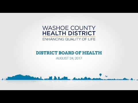 District Board of Health | August 24, 2017