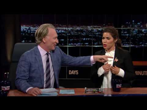 Real Time with Bill Maher: Interview with America Ferrera - July 22, 2016 (HBO)