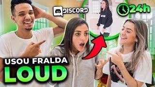 USOU FRALDA?! MEMBROS DO DISCORD CONTROLARAM NOSSO DIA!!