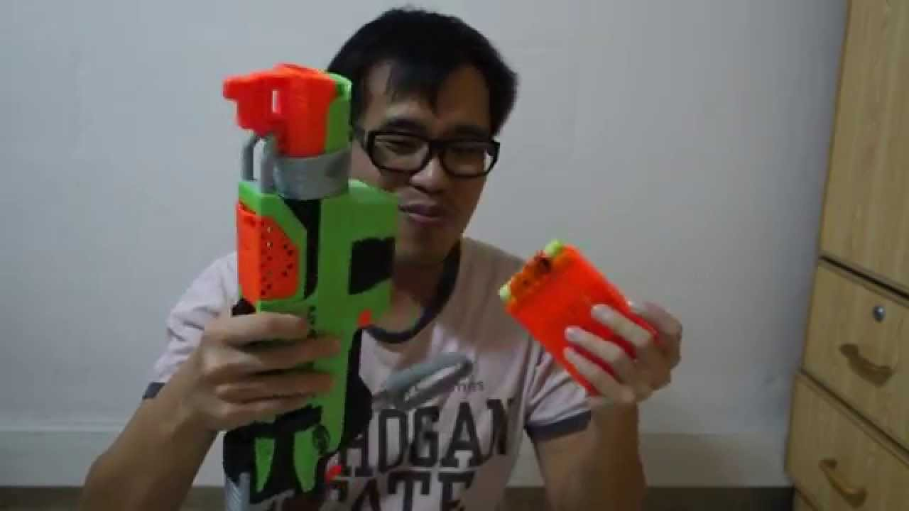 How To Reload Nerf Slingfire