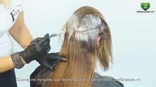 Голливудское окрашивание Ombre  Виктория Джагарова  parikmaxer tv парикмахер тв