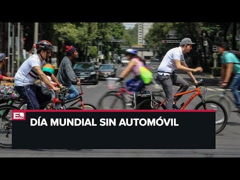 Hoy se conmemora el Día Mundial Sin Automóvil