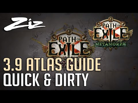 Path Of Exile 3.9 - Atlas Guide - Quick & Dirty