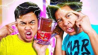 Twin Telepathy with Guava Juice Challenge