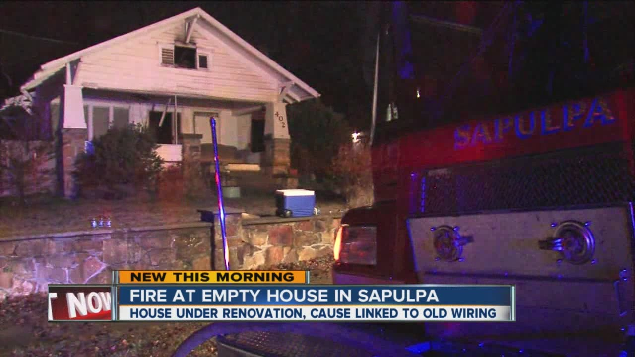 Old Wiring Possibly To Blame For Sapulpa House Fire Youtube In