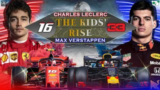 The kids' rise - Leclerc vs Verstappen