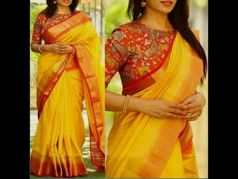 Saree designs latest Indian images , Fashion style