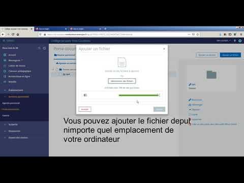 Modifier un fichier Word dans MonBureauNumérique