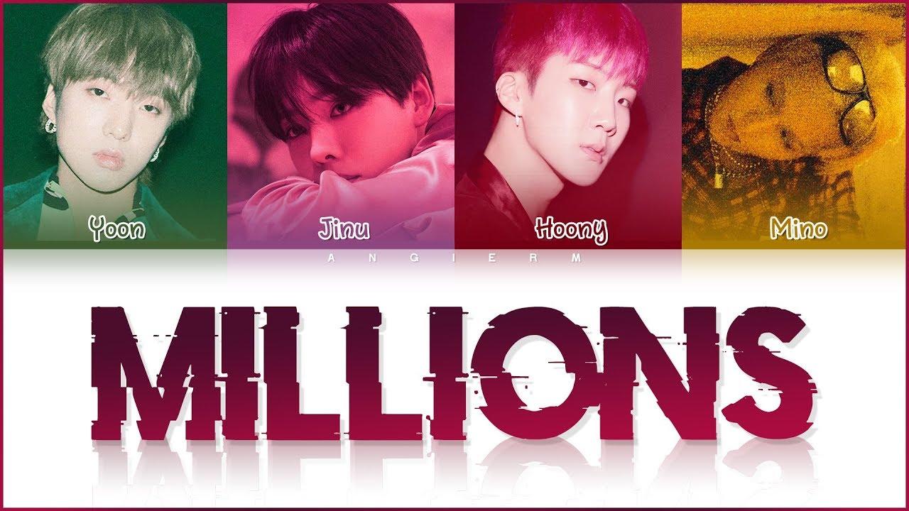 WINNER (위너) - 'MILLIONS' LYRICS (Color Coded Han/Rom/Eng/가사)