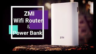ZMI wifi Pocket Router & Power Bank.