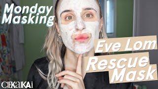 Eve Lom RESCUE MASK REVIEW: Ingredients Application | MONDAY MASKING | CIEKAIKAI