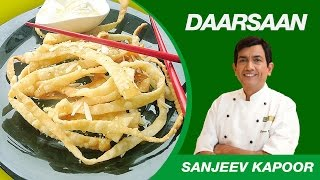 Honey Noodles with Ice Cream Dessert Recipe by Sanjeev Kapoor | Daarsaan