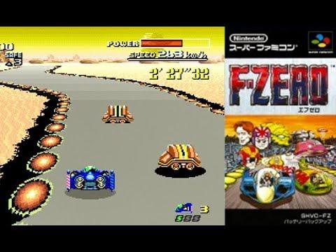 【F-ZEROをプレイしてみた】ミニスーファミ ニンテンドークラシックミニ スーパーファミコン