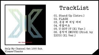Gambar cover [FULL ALBUM] X1 – 비상 : QUANTUM LEAP