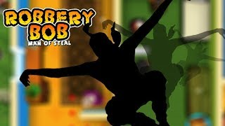 Robbery Bob™ - Chapter 1  NINJA CUIT Part 2 Steal The Stuff Walkthrough   New Game Plus