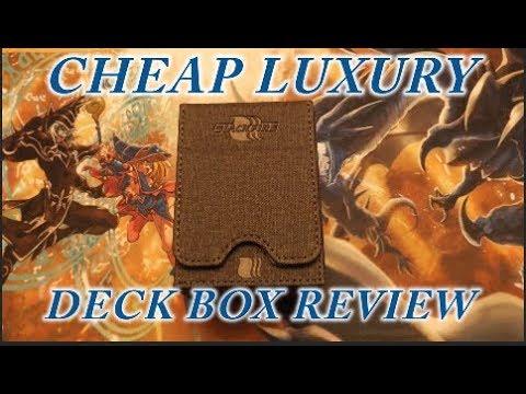 YUGIOH BLACKFIRE CHEAP + Luxury Deck Box Review