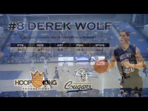 Derek Wolf 2016-2017 Highlights