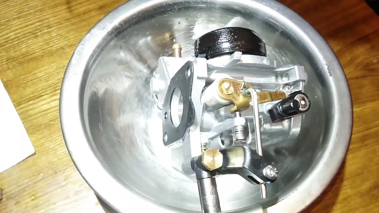 Чистка карбюратора Suzuki DT9,9(15)AS