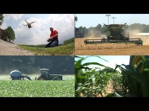 Drones, scanners and GPS all part of 'precision farming' arsenal