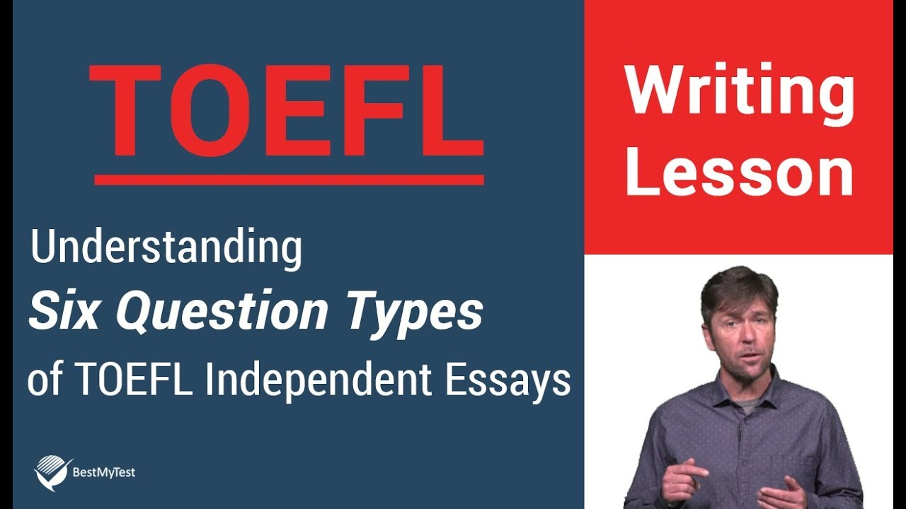 types of essays in toefl