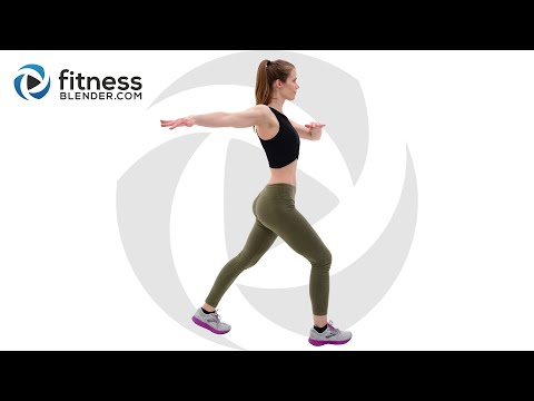 Bodyweight Cardio Workout for Fat Burn and Energy Boost Total Body Cardio Interval Workout