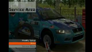 WRC 4 Proton (mitsubishi Evo 7) rally gameplay