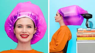 Awesome Hair Tricks and Hacks / 14 Funny Hair Situations