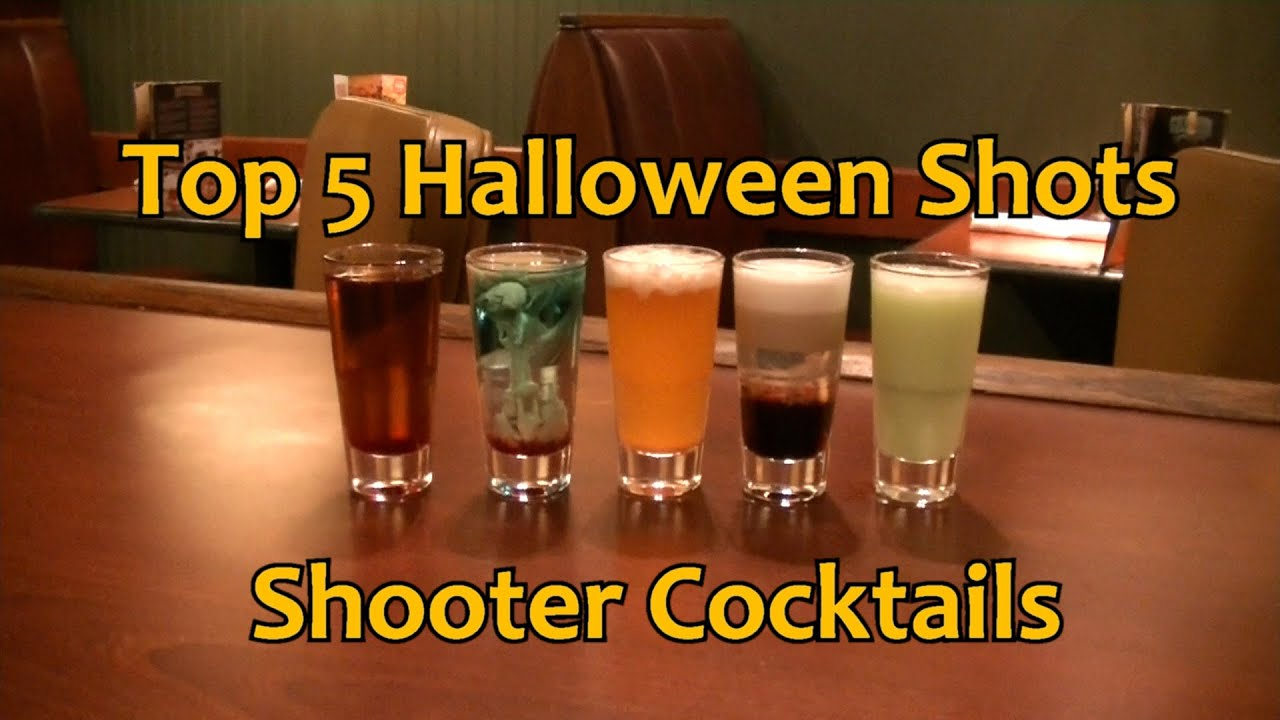 Easy Halloween Shots Recipes Top 5 Halloween Shots Shooter Cocktails Drinks