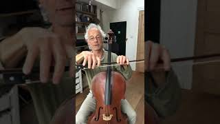 Cello with Timothy Kraemer - how to hold your cello bow