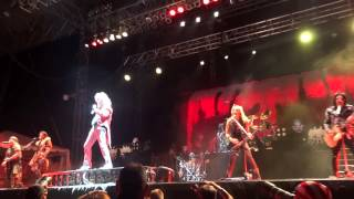 Alice Cooper Hello Hooray/House of Fire FRONT ROW!!! Rock USA 2015