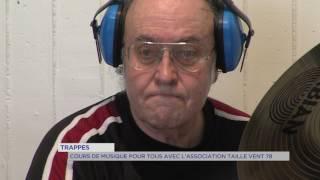 """Trappes : musique pour tous avec l'association """"Taille Vent 78"""""""