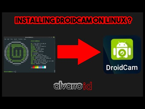 Tutorial Pasang/Install Droidcam di Linux Mint Ulyana