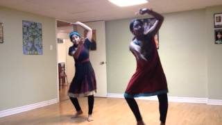 Dance practice-Malavika